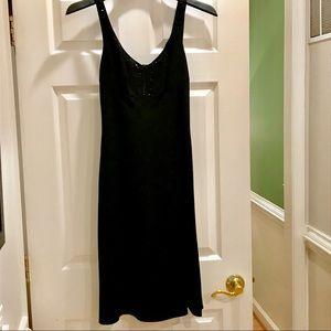 Ann Taylor black semi formal dress